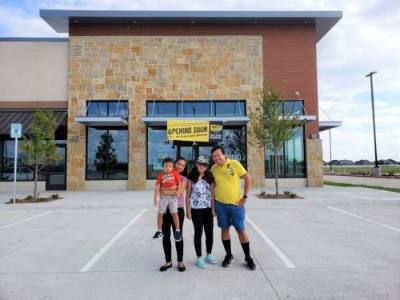 The location will be owned by local entrepreneurs and husband and wife Jesse and Mary Rose Merin. (Courtesy Dickey's Barbecue Pit)
