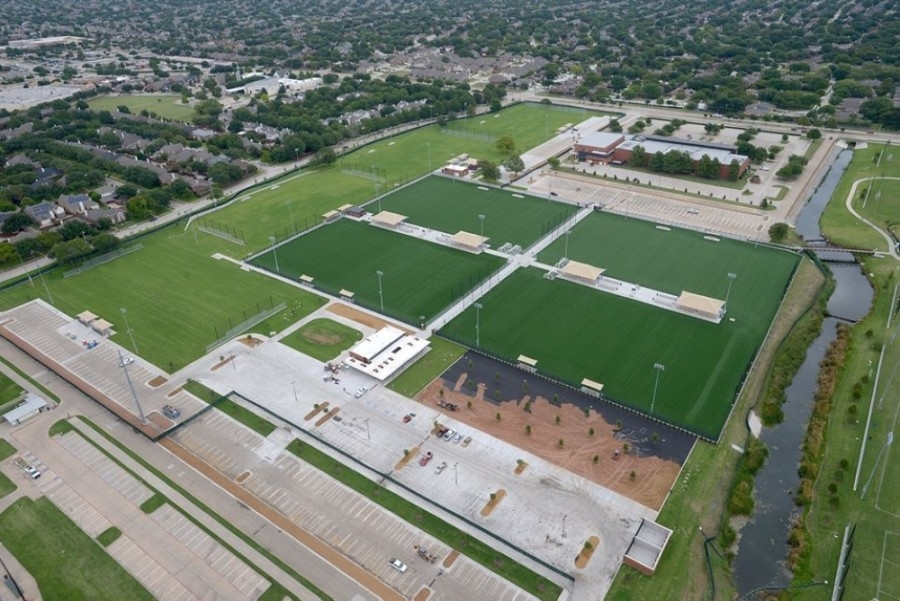 The $15.5 million project was funded by the city's 2017 bond and followed the 2015 Carpenter Park Master Plan. (Courtesy city of Plano)