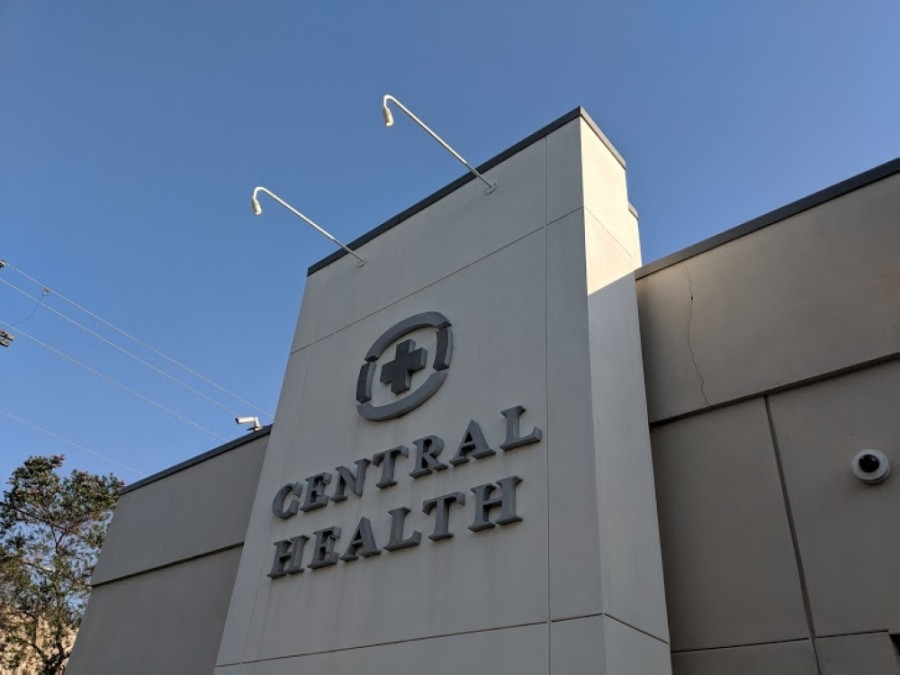 Central Health building in east Austin