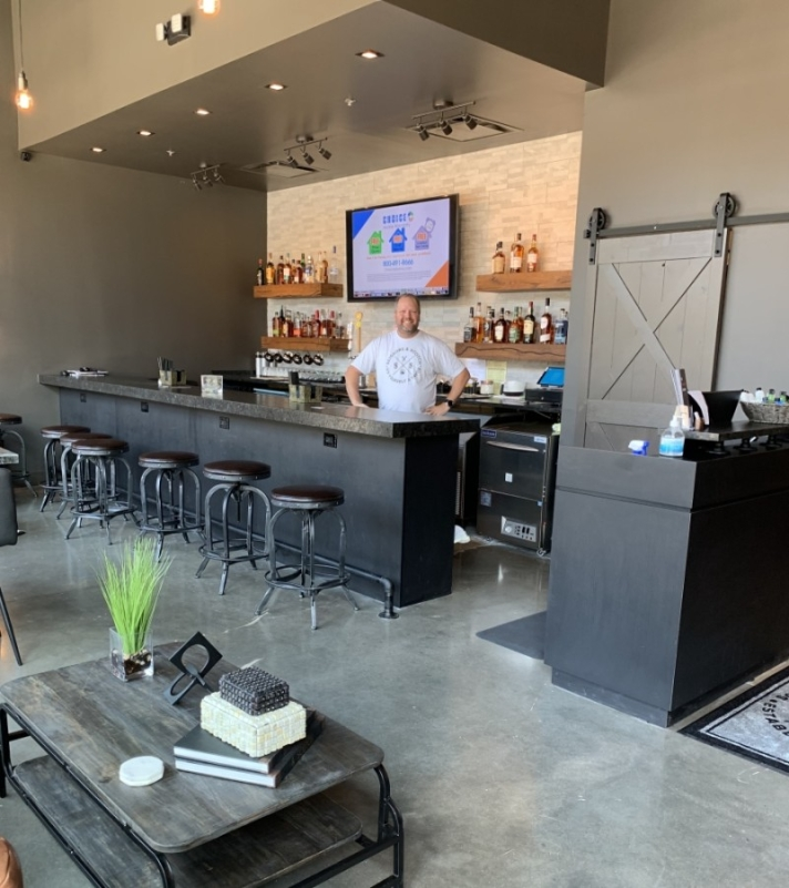 Scissors and Scotch opened in August at Hill Center Brentwood. (Photos by Maureen Sipperley/Community Impact Newspaper)