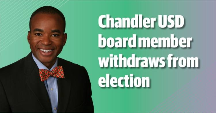 David Evans has formally withdrawn from the Chandler USD governing board race. (Community Impact staff)