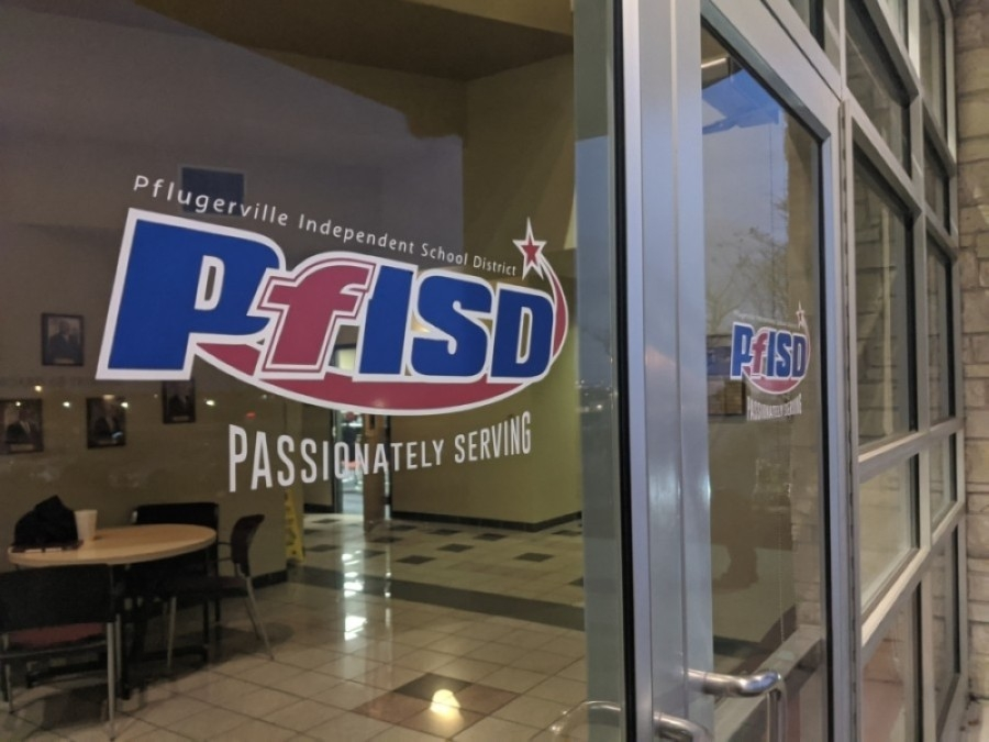The Pflugerville ISD board of trustees formally adopted a fiscal year 2020-21 budget and tax rate Aug. 20. (Iain Oldman/Community Impact Newspaper)