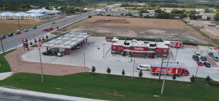 QuikTrip in New Braunfels opened Aug. 27. (Courtesy QuikTrip)