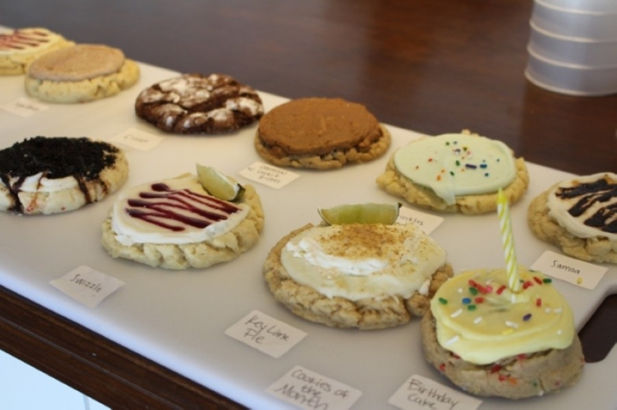 Twisted Sugar bakes some specialty cookies. (Tom Blodgett/Community Impact Newspaper)