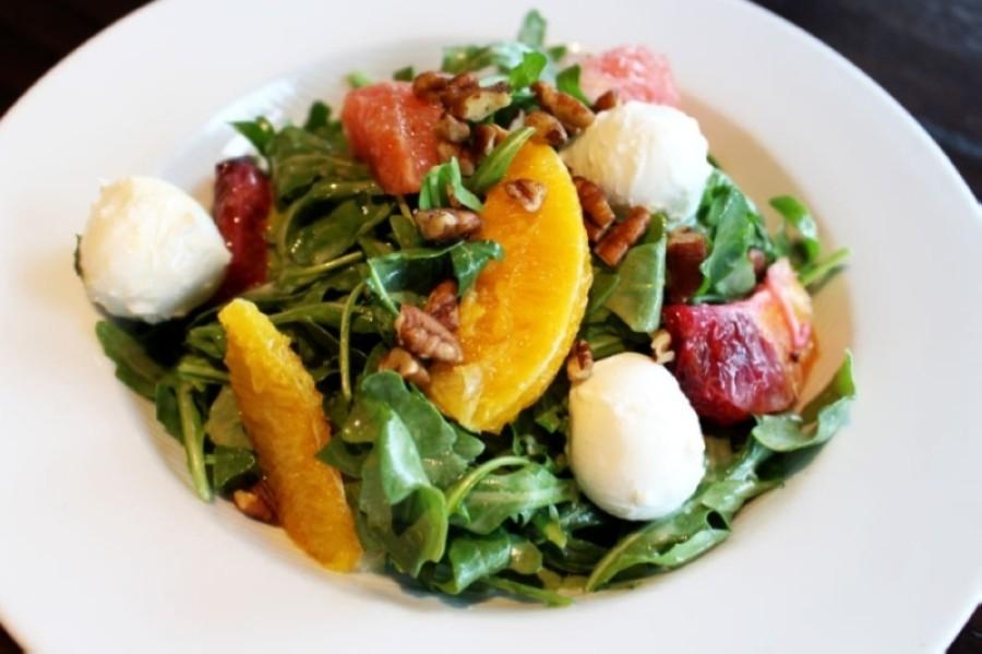 Menu items at Jasper's Richardson include salads, fish, steaks and more. (Olivia Lueckemeyer/Community Impact Newspaper)