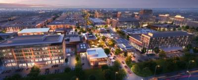 District 2243, a proposed planned unit development, was first presented to City Council at its July 2 meeting. (Rendering courtesy Gensler)