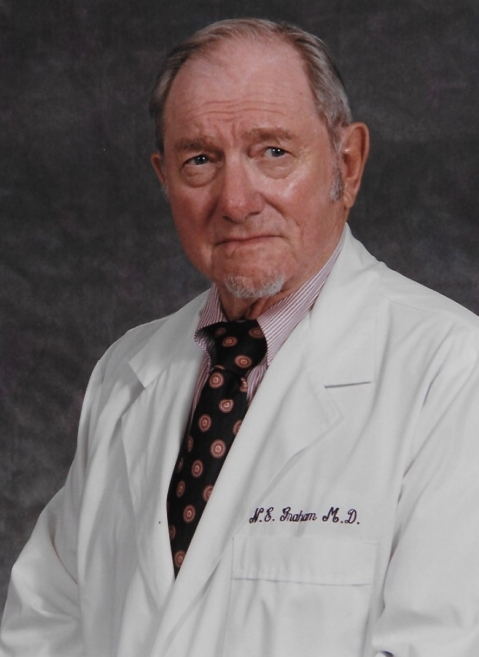 Dr. Norman Graham, who was among the founders of Tomball's medical community, served the community for 69 years. He died Sept. 3 at age 96. (Courtesy Leif Graham)