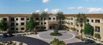 Cadence Chandler, a new senior living community, is set to open in October 2021. (Rendering courtesy Cadence Chandler)