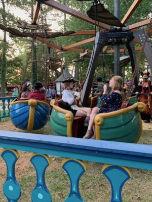 The DaVinci's Flying Machine is a new attraction at the festival this year. (Courtesy Texas Renaissance Festival)