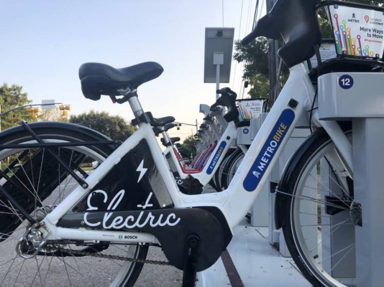 Capital Metro and the city of Austin are now partnering on a shared bike program. Previously branded as Austin BCycle, the program is now called MetroBike. (Jack Flagler/Community Impact Newspaper)