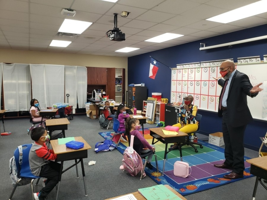 Fort Bend ISD elementary students began returning for face-to-face learning Sept. 28-Oct. 2. (Courtesy Fort Bend ISD)