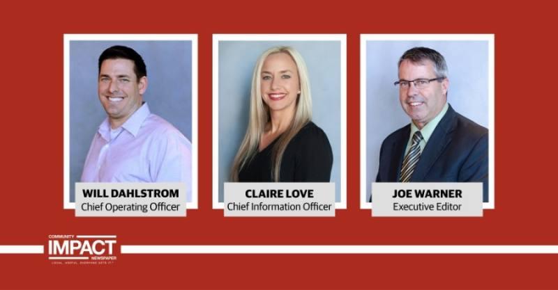 Community Impact Newspaper announces key executive leadership roles