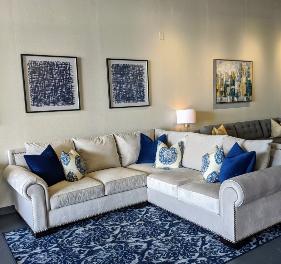 Design A Sofa Finds New Heritage Trace, Custom Furniture Houston Heights