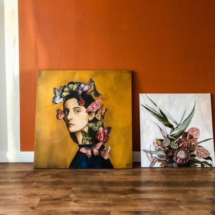 Starting Nov. 18 and lasting through Dec. 31, Inside HER Studio will showcase the artistic works of female-identifying individuals. (Courtesy Inside HER Studio)