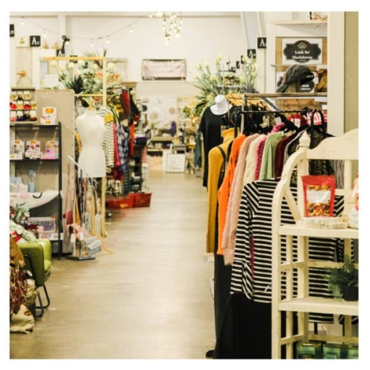 Shoppers can peruse gifts, home decor, clothing, accessories, soaps, candles and more at the new location. (Courtesy Painted Tree Marketplace)