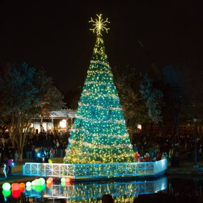 The annual tree lighting for Dickens in Downtown will be virtual this year. (Courtesy city of Plano)