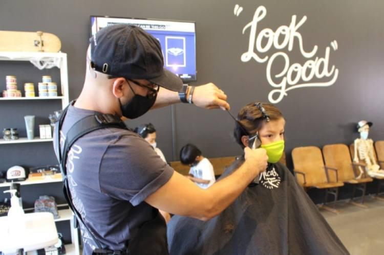 Rajiv Patel, Nico's Barber Shop