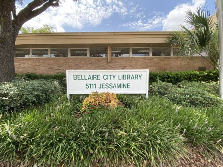 All proceeds from a pop-up book shop coming to Bellaire will benefit the city library. (Hunter Marrow/Community Impact Newspaper)