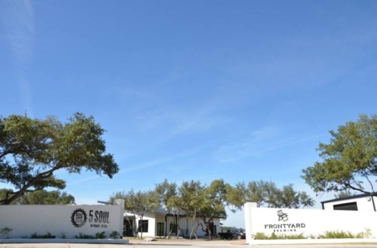 Frontyard Brewing opened Nov. 14 in Spicewood. (Amy Rae Dadamo/Community Impact Newspaper)