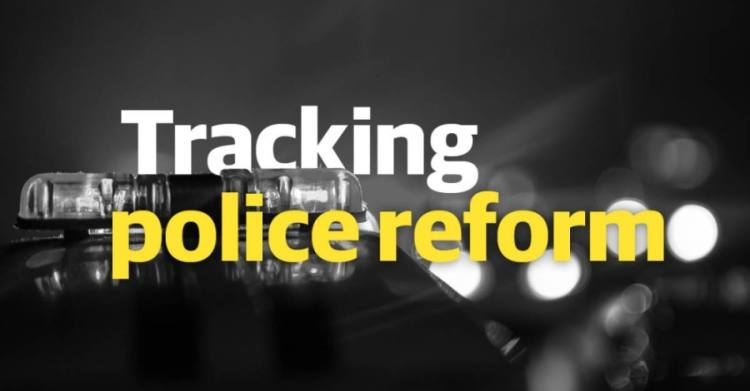 Tracking police reform text