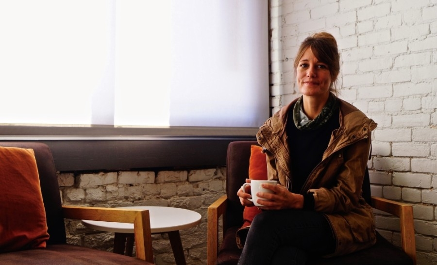Owner Lisa Woods cited the spirit and character of independent cafes as motivation for opening her downtown Hutto location, East Social House. (Kelsey Thompson/Community Impact Newspaper)