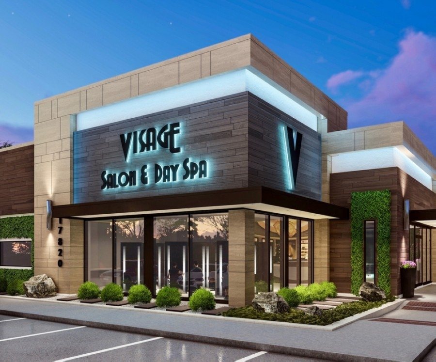Construction is underway on a new location of Visage Salon & Day Spa on West Road in Cy-Fair. (Courtesy Facebook)