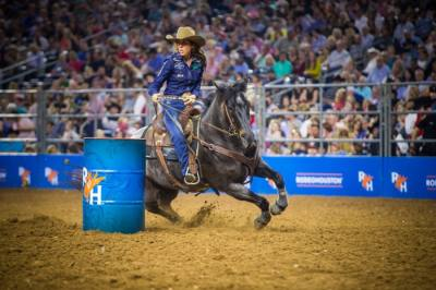 After being canceled in March due to coronavirus concerns, the Houston Livestock Show and Rodeo is returning in May. (Courtesy Houston Livestock Show and Rodeo)