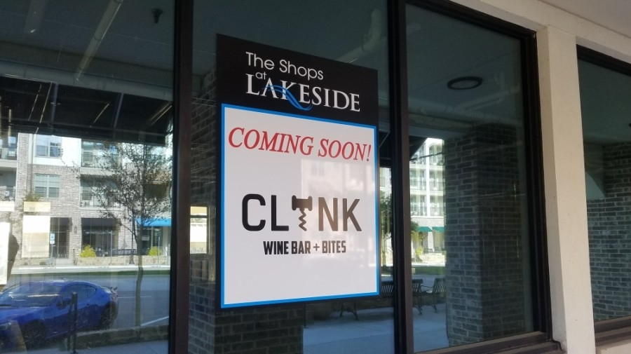 Clink Wine Bar and Bites will serve tapas-style plates including charcuterie boards, flatbreads, salads and desserts. (Community Impact staff)