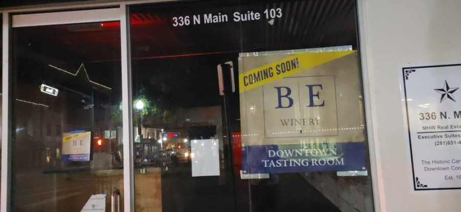The projected soft opening is Jan. 2. (Courtesy Blue Epiphany Winery)