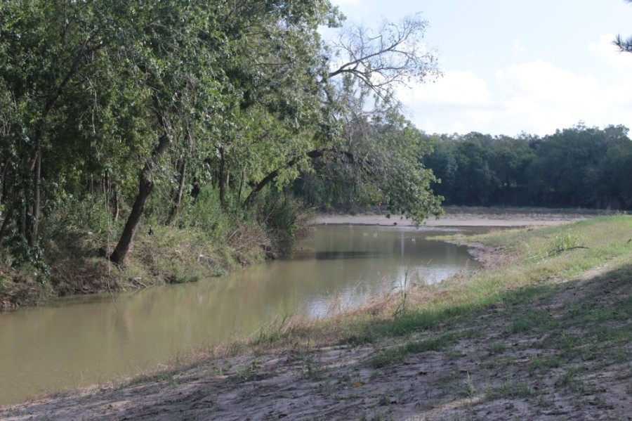 Friendswood applied for a $78 million grant to fund a local draiange project that could benefit residents living along Clear Creek. (Haley Morrison/Community Impact Newspaper)