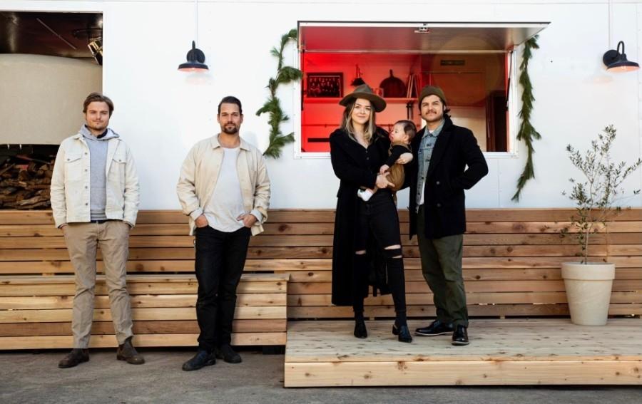 The Sammataro team recently launched its pizza trailer in Lost Creek. (Courtesy Devon Hutchins)
