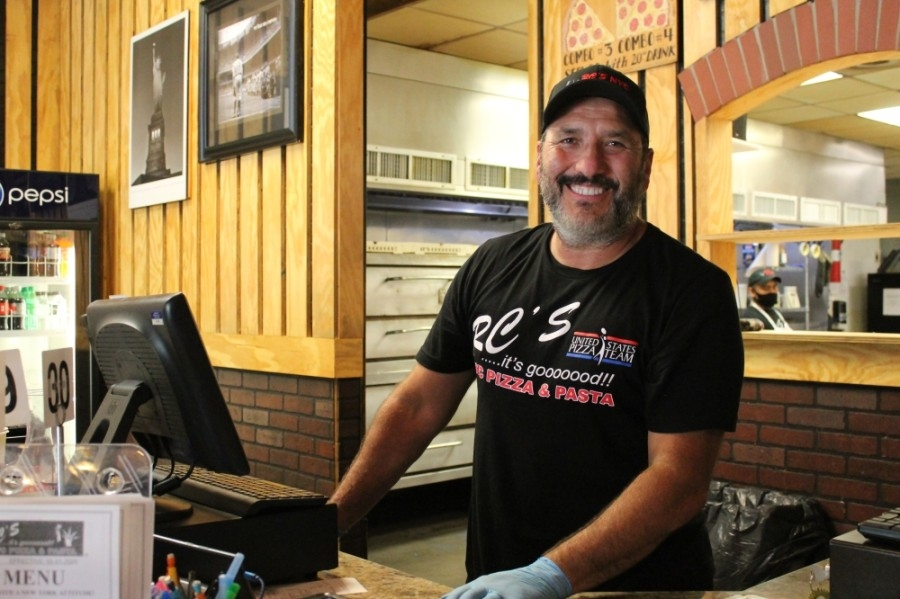 RC Gallegos opened RC's NYC Pizza & Pasta in The Woodlands in 2013. (Andy Li/Community Impact Newspaper)