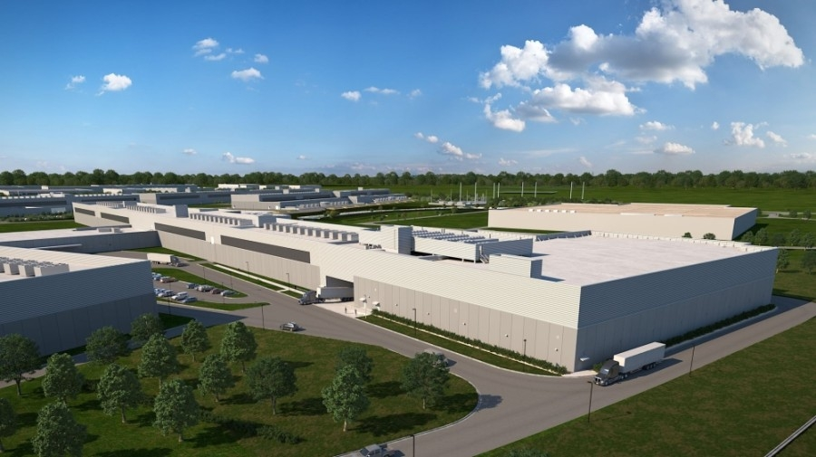 A Facebook data center in Fort Worth is undergoing a 170,000-square-foot expansion. (Courtesy Facebook)