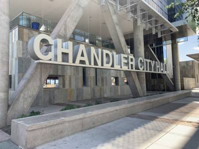 The city of Chandler headquarters is in downtown Chandler  (Alexa D'Angelo/Community Impact Newspaper)