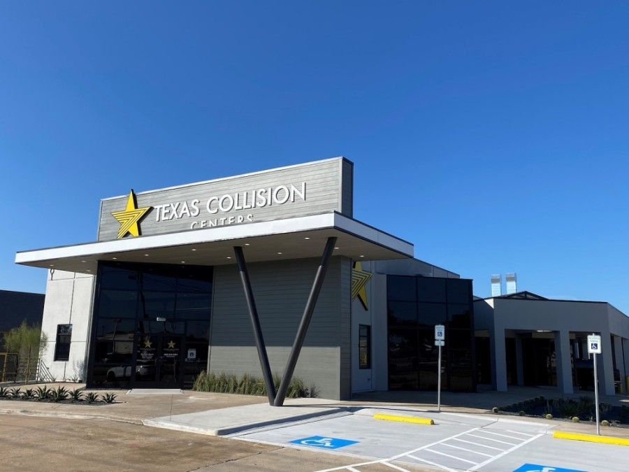 The business specializes in all aspects of collision repair, including bumper damage, paint, hail damage and no-paint dent repair. (Courtesy Texas Collision Centers)
