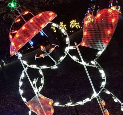The Lakeway Trail of Lights will run through Jan. 3. (Courtesy city of Lakeway)