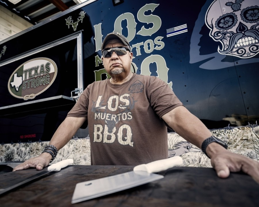 Owner Rick Muniz opened Los Muertos BBQ as a food truck in Katy. His first brick-and-mortar location opened in September. (Photos courtesy Rick Muniz)