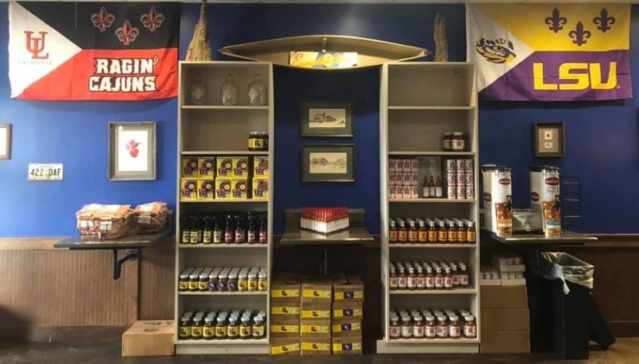 Specialty grocery store Louisiana Pantry opened in Pearland in December. (Courtesy Louisiana Pantry)