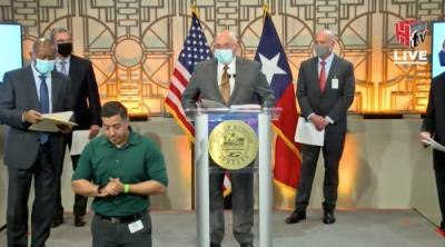 Axiom President and CEO Mike Suffredini speaks about Axiom's plans to build the world's first commercial space station in Houston. (Courtesy city of Houston)