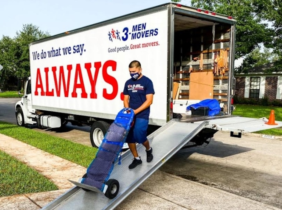 3 Men Movers opened its fifth Texas office in December on Warren Parkway in Frisco. (Courtesy Chelsea Anderson, 3 Men Movers)