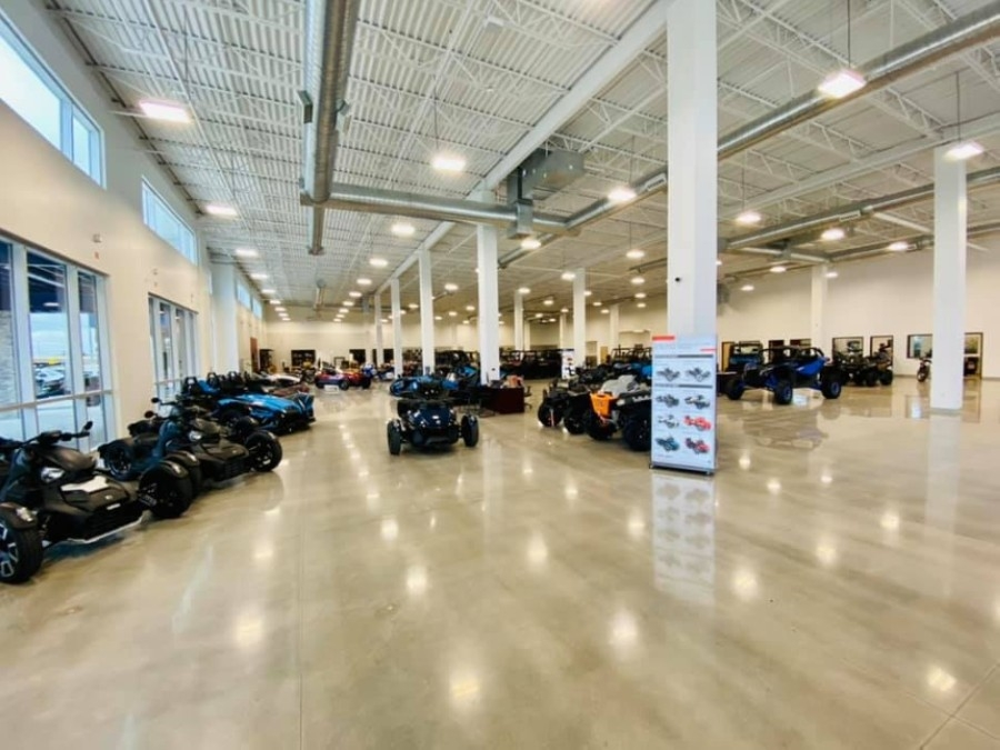 Freedom Powersports McKinney moved in December to a new location at 3850 N. Central Expressway, McKinney. (Courtesy Freedom Powersports McKinney)
