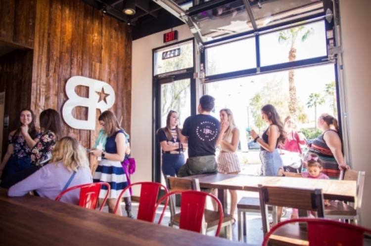 The coffee chain's menu features Americanos, drip coffees, cold brews, specialty lattes, teas and smoothies, among others. (Courtesy Black Rock Coffee Bar)