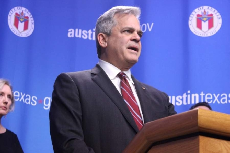Austin Mayor Steve Adler will still reach his term limit in 2022 if voters approve changes to the election cycle. (Jack Flagler/Community Impact Newspaper)