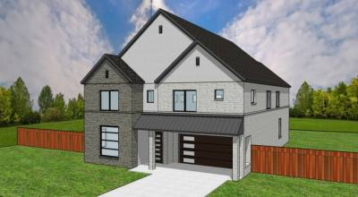 The model home for The Village at Abrams gated community is expected to be ready this summer. (Courtesy Serene Global)