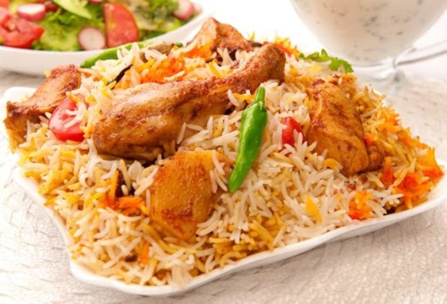 All Swagath Biryani's meat is halal. (Courtesy Adobe Stock)