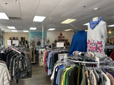 Customers can shop for deeply discounted designer clothing and accessories at Closet Revival. (Courtesy Closet Revival)