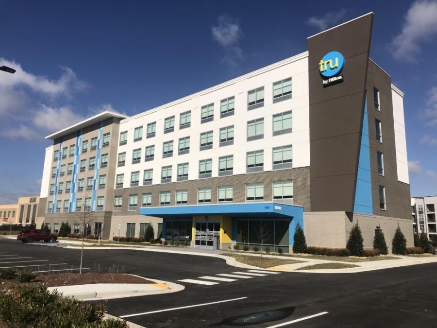 Tru by Hilton opened in Cool Springs in January. (Lindsay Scott/Community Impact Newspaper)