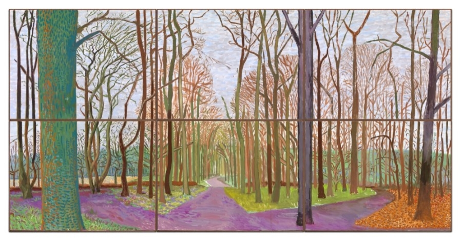 """The Museum of Fine Arts, Houston opens two new exhibits, including """"Hockney-Van Gogh: The Joy of Nature,"""" on Feb. 21. (Courtesy Museum of Fine Arts, Houston)"""