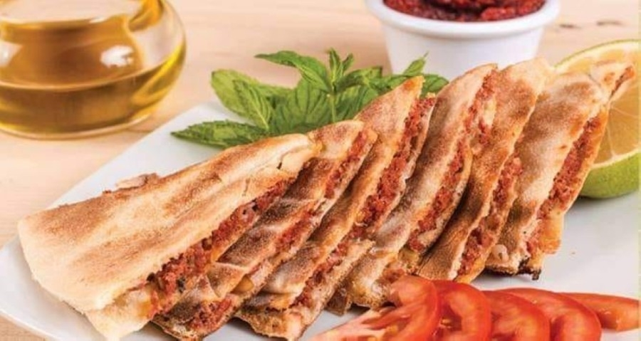 The restaurant serves Israeli and Middle Eastern Mediterranean menu items, including varieties of shawarma, kebabs and fatta as well as hummus and baba ghanouj. (Courtesy Jaffa Mediterranean Cuisine)