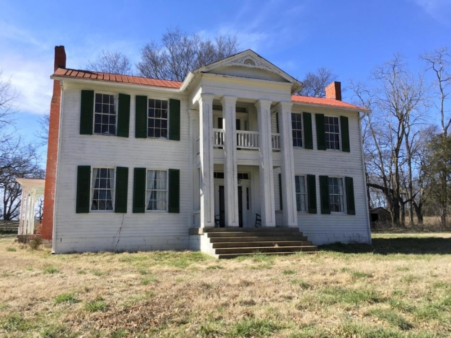 The historic home dates back to 1806. (Courtesy city of Brentwood)